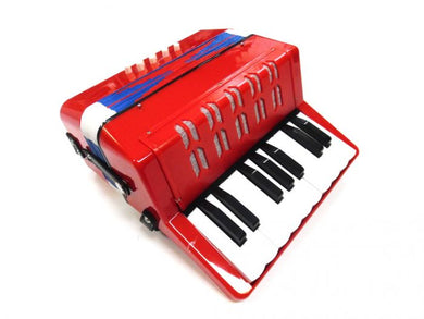 AMS PA818R Junior Piano Accordion Red