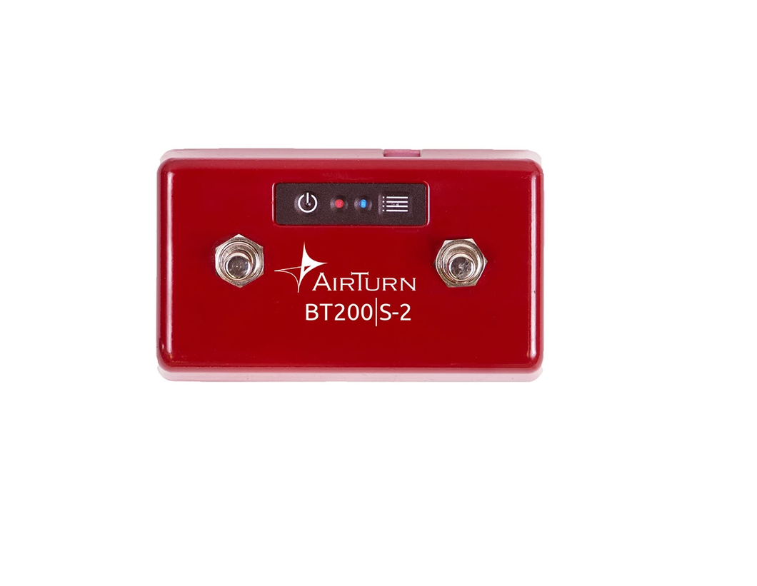 AirTurn BT200S2 Bluetooth 2 Foot Switch Controller