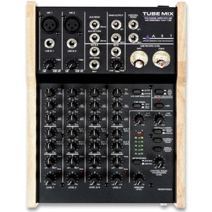 ART Five Channel Tube Mixer with USB