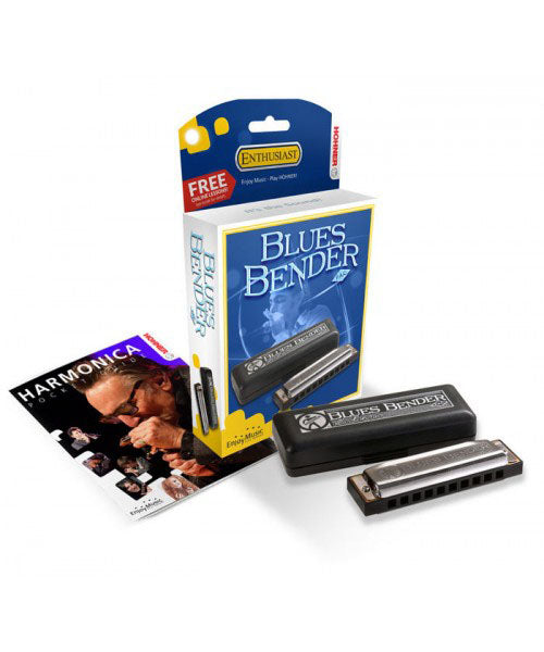 Hohner Blues Bender Harmonica in the Key of A
