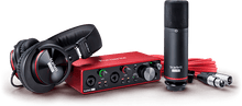 Load image into Gallery viewer, Focusrite Scarlett 2i2 STUDIO Package W/Pro Tools First & Ableton Live Lite (Gen 3)