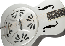 Load image into Gallery viewer, Gretsch G9221 Bobtail Steel Round-Neck A.E. Steel Body Resonator Guitar Fishman Pickup