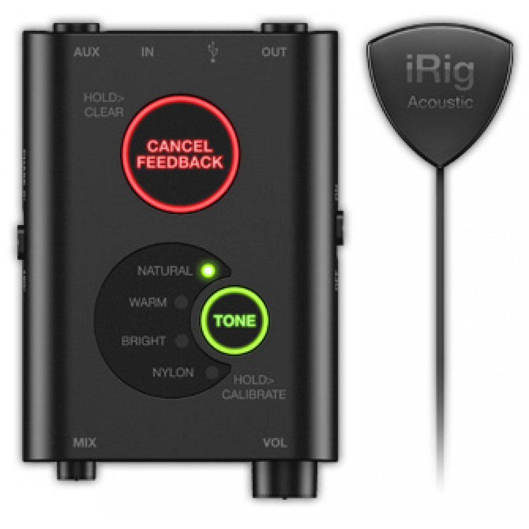IRIG Acoustic Stage - Advanced Mic System For Acoustic Guitar