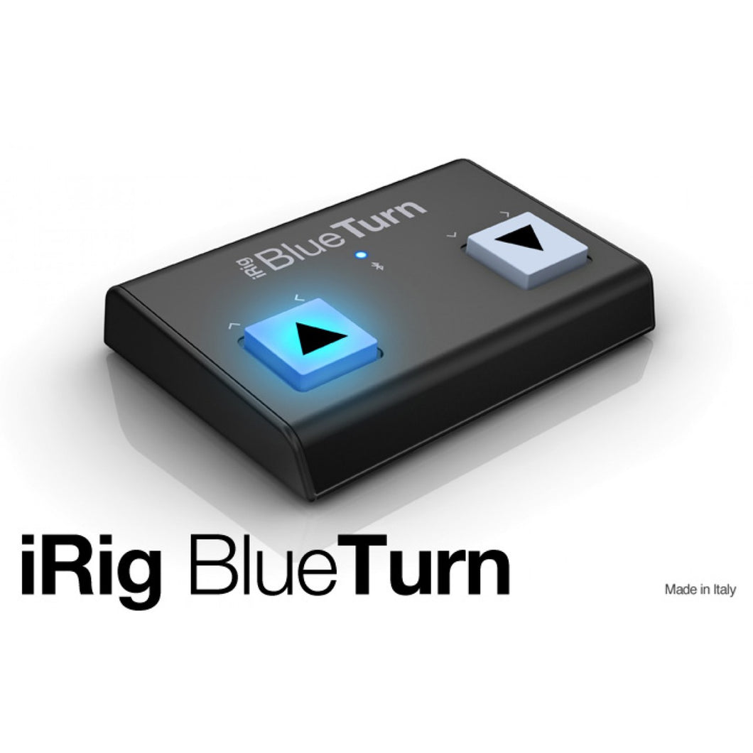 IRIG BLUETURN - BACKLIT COMPACT BLUETOOTH PAGE TURNER