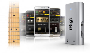 iRig UA Universal guitar FX processor/interface for Android