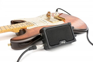 IRIG NANO AMP-RED 3W CLASS AB Micro Guitar Amp and Interface