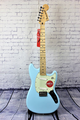 FENDER PLAYER MUSTANG SONIC BLUE
