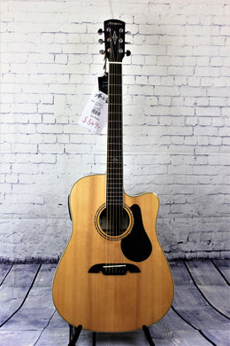 Alvarez AD60ce dreadnought acoustic/electric guitar