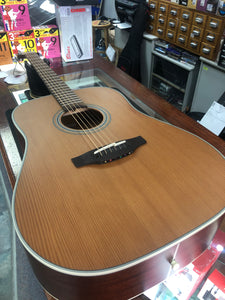 SALE Takamine TGD20NS Dreadnought Acoustic Guitar Natural Finish
