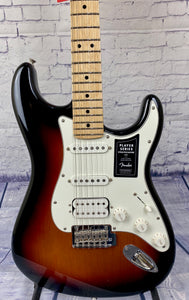 FENDER PLAYER STRATOCASTER® HSS 3 TONE SUNBURST