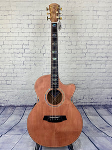 COLE CLARK ANGEL 3 (AN3EC-RDBL) ACOUSTIC GUITAR