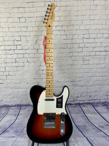 FENDER PLAYER TELECASTER SUNBURST MAPLE FRETBOARD