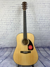 Load image into Gallery viewer, FENDER CD-60 DREAD V3 DS ACOUSTIC GUITAR
