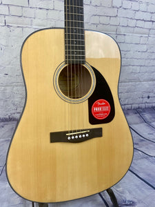 FENDER CD-60 DREAD V3 DS ACOUSTIC GUITAR