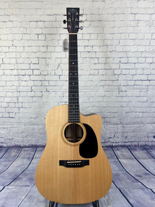 Sigma DTCE Acoustic Guitar w/ Solid Sitka Spruce Top Cutaway & Pickup