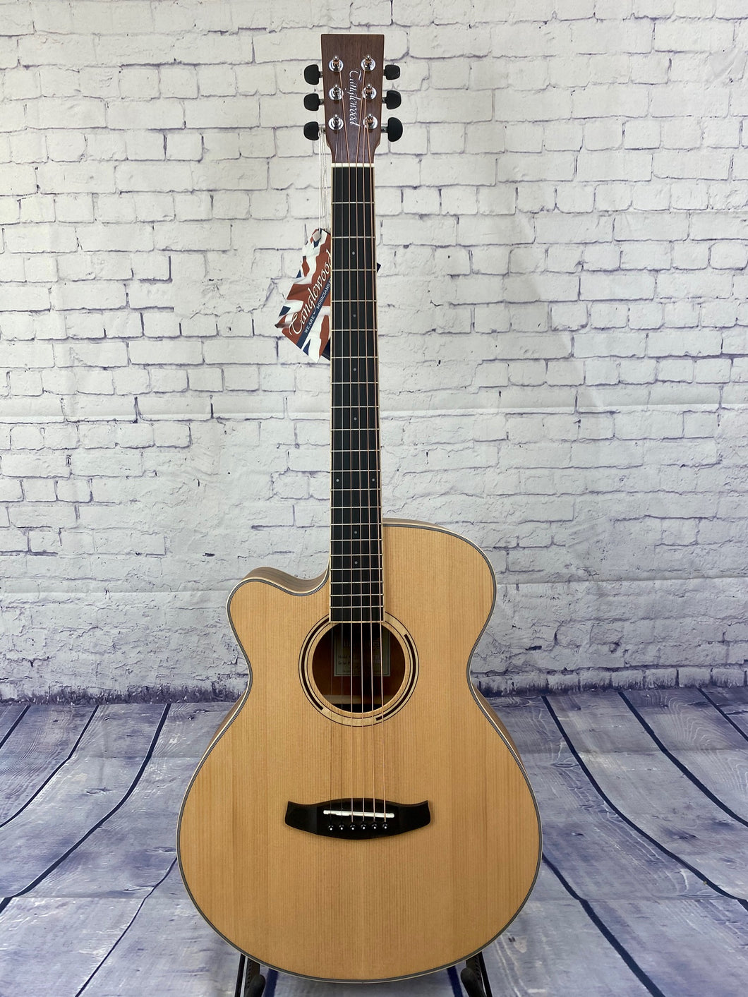 Tanglewood TDBTSFCEPWLH Discovery Exotic Pacific Walnut Super Folk C/E Left Handed