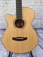 Load image into Gallery viewer, Tanglewood TDBTSFCEPWLH Discovery Exotic Pacific Walnut Super Folk C/E Left Handed