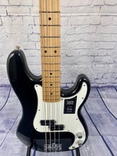 Load image into Gallery viewer, FENDER PLAYER PRECISION BASS® BLACK MAPLE FRETBOARD