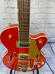 GRETSCH G5655TG ELECTROMATIC® CENTER BLOCK JR. SINGLE-CUT WITH BIGSBY® AND GOLD HARDWARE