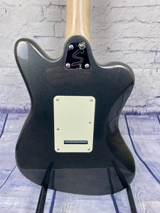 Squier Paranormal Super-Sonic in Graphite Metallic - in stock ready to ship!