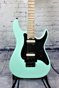 Schecter SCH1280 Sun Valley Super Shredder - Floyd Rose Seafoam Green
