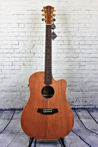 COLE CLARK FAT LADY 2 Redwood Top with Australian Blackwood Back and Sides.