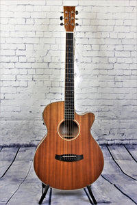 Tanglewood TWUSFCE Union  Acoustic/Electric Guitar Super Folk Cutaway