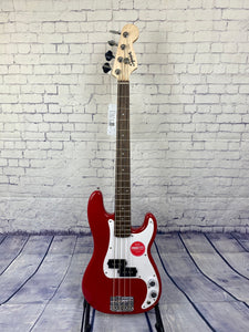 SQUIER BY FENDER MINI PRECISION BASS® DAKOTA RED