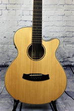 Load image into Gallery viewer, Tanglewood Winterleaf TW12CE Acoustic/Electric Orchestra Cutaway 12-String Spruce Top