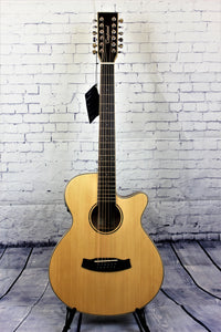 Tanglewood Winterleaf TW12CE Acoustic/Electric Orchestra Cutaway 12-String Spruce Top