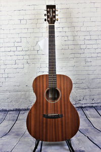 Tanglewood TW2E Winterleaf Acoustic/Electric Guitar Mahogany Orchestra with Case
