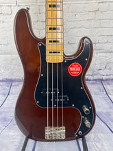 Load image into Gallery viewer, SQUIER BY FENDER CLASSIC VIBE '70S PRECISION BASS® WALNUT
