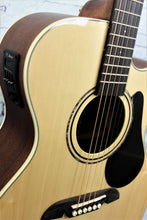 Load image into Gallery viewer, Alvarez RF26CE OM/Folk Acoustic-Electric Guitar Natural