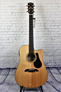 Alvarez AD30CE Acoustic/Electric Guitar Dreadnought with cutaway Spruce Top MHG Back & Sides