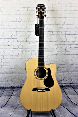 Alvarez RD26CE Regent Series Dreadnought, Natural Gloss Finish