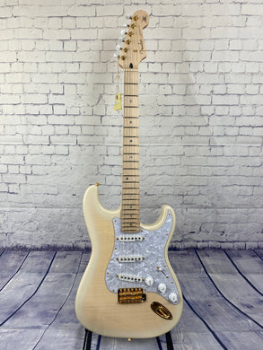 FENDER Richie Kotzen Stratocaster®, Maple Fingerboard, Transparent White Burst