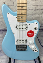 Load image into Gallery viewer, FENDER MINI JAZZMASTER® HH DAPHNE BLUE