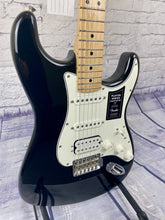 Load image into Gallery viewer, FENDER PLAYER STRATOCASTER® HSS BLACK/MAPLE BOARD