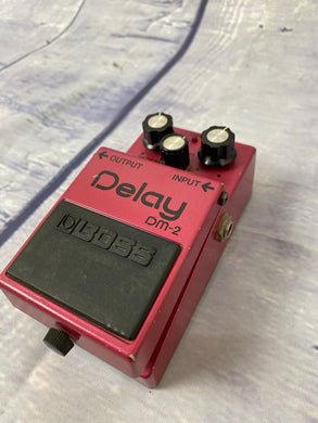 Boss DM-2 Analog Delay Guitar Pedal Vintage MADE IN JAPAN 1980's