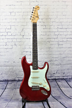 Load image into Gallery viewer, SX Vintage style SC electric guitar - Candy Apple Red
