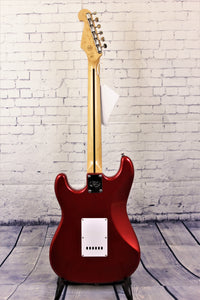 SX Vintage style SC electric guitar - Candy Apple Red