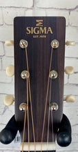 Load image into Gallery viewer, Sigma S000M-15E 000 Shape Acoustic Electric Guitar - Solid Mahogany **ON HOLD***