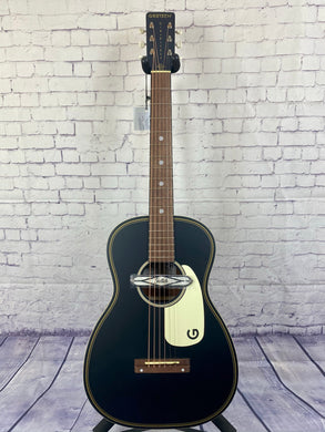 GRETSCH G9520E GIN RICKEY ACOUSTIC/ELECTRIC GUITAR BLACK