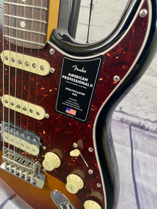 FENDER AMERICAN PROFESSIONAL II STRATOCASTER® HSS 3 COLOUR BURST