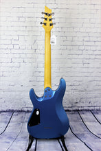 Load image into Gallery viewer, Schecter SCH431 C-6 Deluxe Satin Metallic Light Blue Electric Guitar