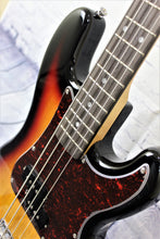Load image into Gallery viewer, SX Bass Guitar Short Scale 3/4 Size 30inch 3-Tone Sunburst - VEP34TS