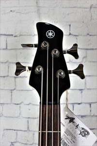 Yamaha TRBX304BL Electric 4-String Bass Guitar Black