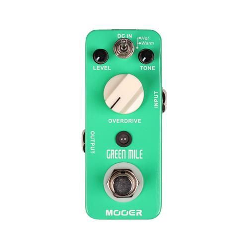 Mooer MEP-GM  Green Mile - Overdrive Pedal