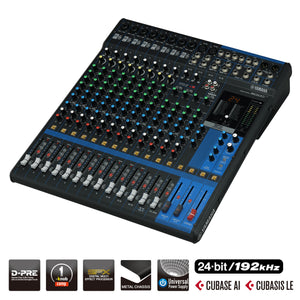 Yamaha MG16XU D-PRE Mixing Console with Effects and USB