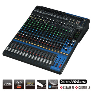 YAMAHA MG20XU D-PRE Mixing Console with Effects and USB